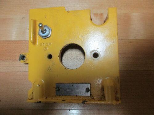 McCulloch Pro Mac 650 Chainsaw ID Tag Rear Plate