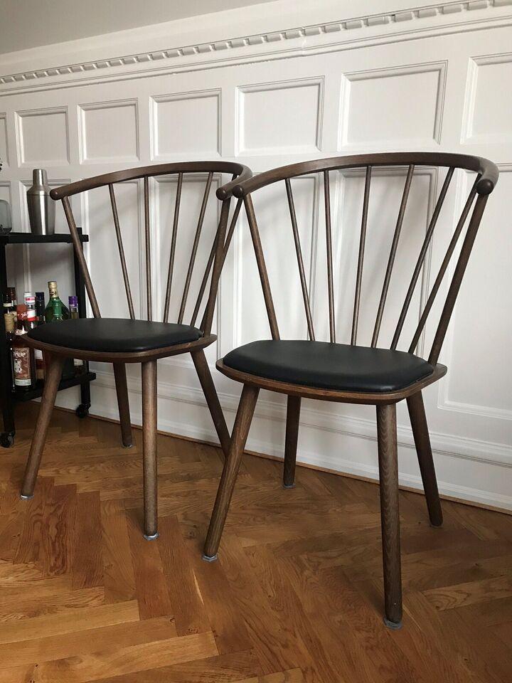Spisebordsstol, Røget olieret eg + – dba.dk – Køb og Salg af