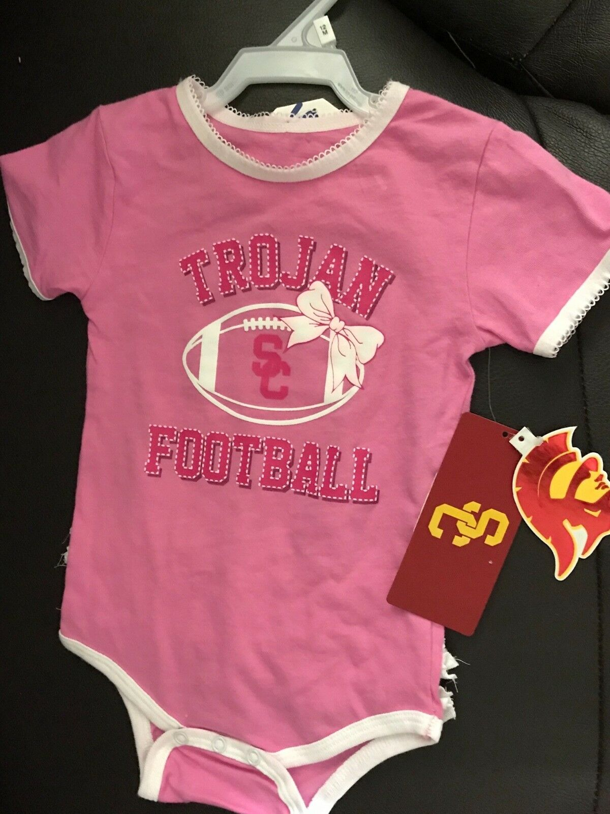 YOU PICK SIZE * NCAA USC Trojans Baby Infant Toddler Boys Jumper Overalls