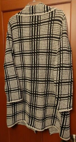 98 Hvid Størrelse A2 Sweater Coat Alba Nwt Armand Jacket Car Retail Sort Medium qqw04OvW