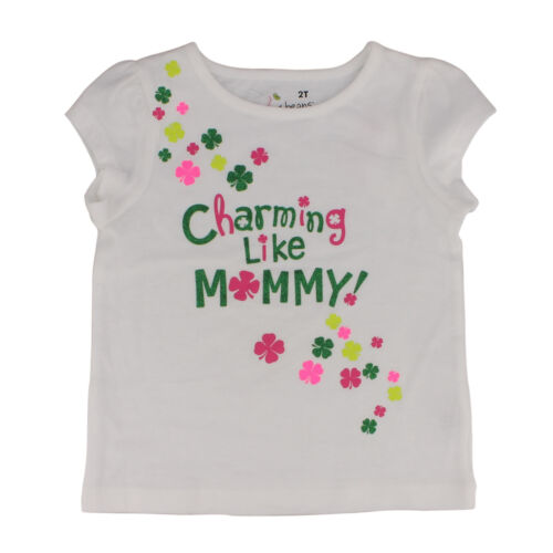 Patrick/'s Day Irish T-shirt for Toddler Girls Jumping Beans St