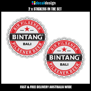 Bintang-Bali-novelty-beer-fridge-stickers-x-2-for-car-4WD-ute-tinnie-man-cave