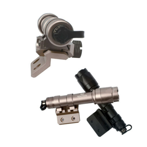Optic Picatinny Rail Mount M-LOK//Keymod Offset Flashlight For M300 M600