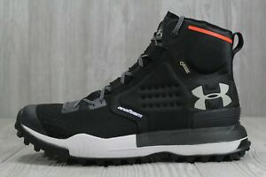 sports shoes 436ee 335c8 43 New Men's UA Newell Ridge Mid GORE-TEX® Black High Hiking ...