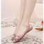 Women-039-s-Casual-Shoes-Jelly-Hollow-Out-Flat-Heel-Sandals-Flip-Flops-Plus-Size-Ths thumbnail 14
