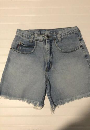 Vintage 90s LEI Riding Wear Jean Shorts Size Mediu