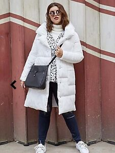 Tags Be Worn New Size With Simply Jacket White Puffer Coat 18 Parker never qwASXv