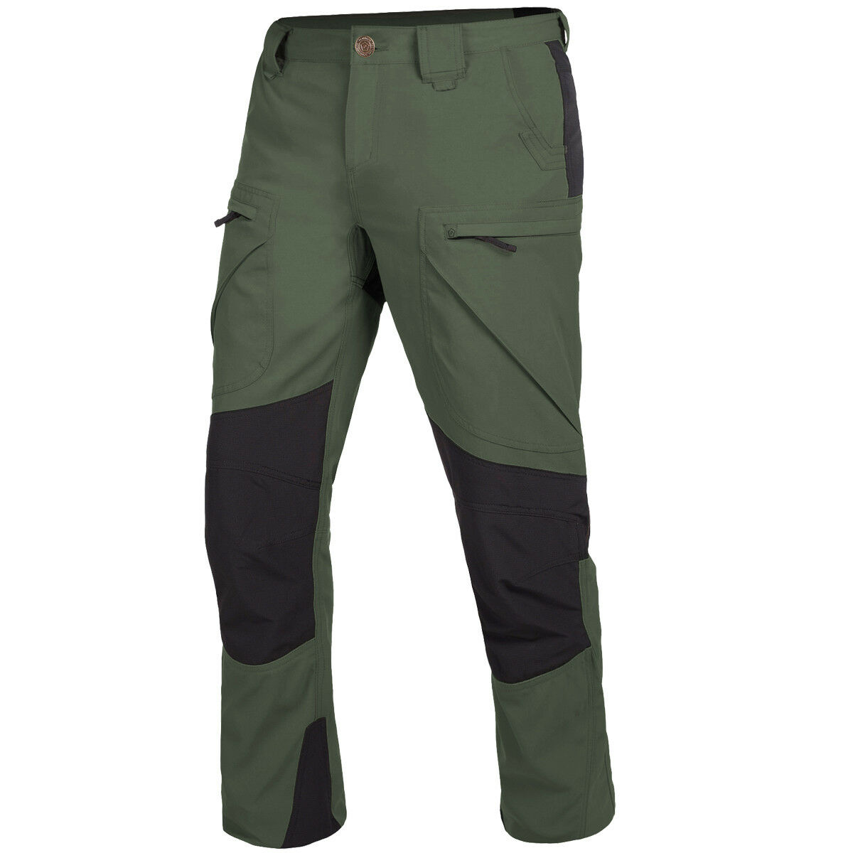 Pentagon Vorras Climbing Pants Outdoor Tactical Reinforced Trousers Camo Green