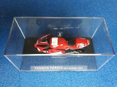 164 Yamaha Yzr500 M. Biaggi 2001 Scala 1: 24 Box Cvgm3/19