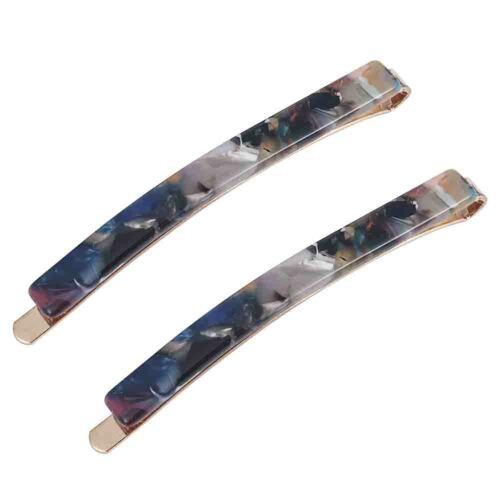 Fashion Girls Diamante Crystal Hair Clip Snap Barrette Hairpin Hair Accessories