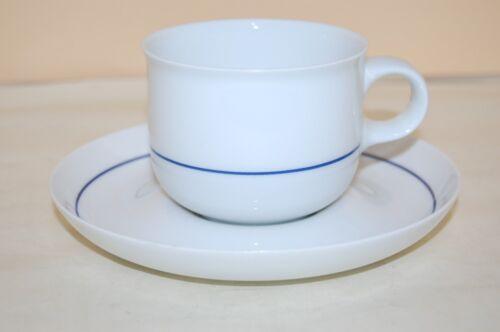 Tavola blaue Linien Hutschenreuther Kaffeetasse 2 tlg