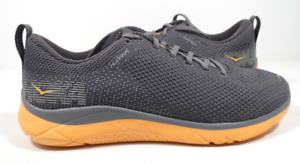 Hoka-One-One-Hupana-2-Blackened-Pearl-Kumquat-Running-Shoe-Men-039-s-sizes-7-8-5-NEW