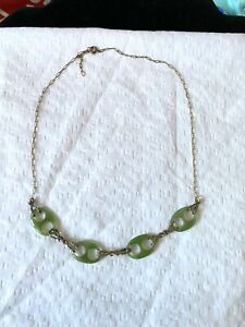 Vintage-Jade-amp-Gold-Filled-Necklace