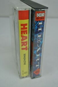 2)  HEART Cassette Tapes