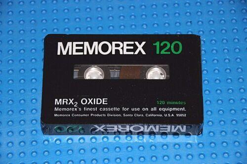 SEALED MEMOREX  MRX2 OXIDE  120    BLANK CASSETTE TAPE 1