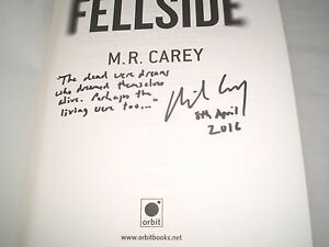 M-R-CAREY-Fellside-SIGNED-LINED-DATED-1-1-Hb-2016-FANTASY