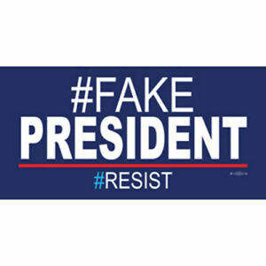 FakePresident-Fake-President-Resist-Resist-Vinyl-Bumper-Sticker-Decal