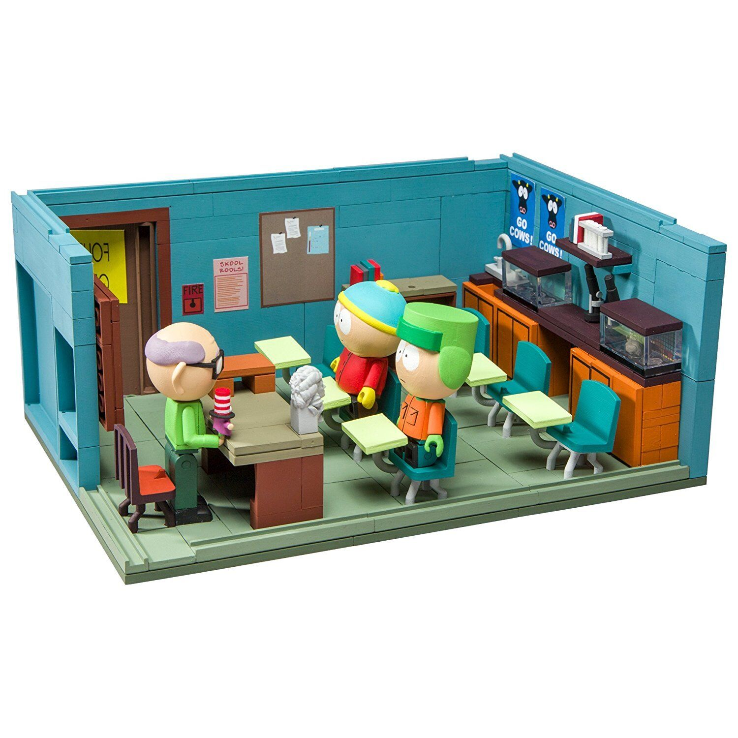 South Park Classroom Construction Set