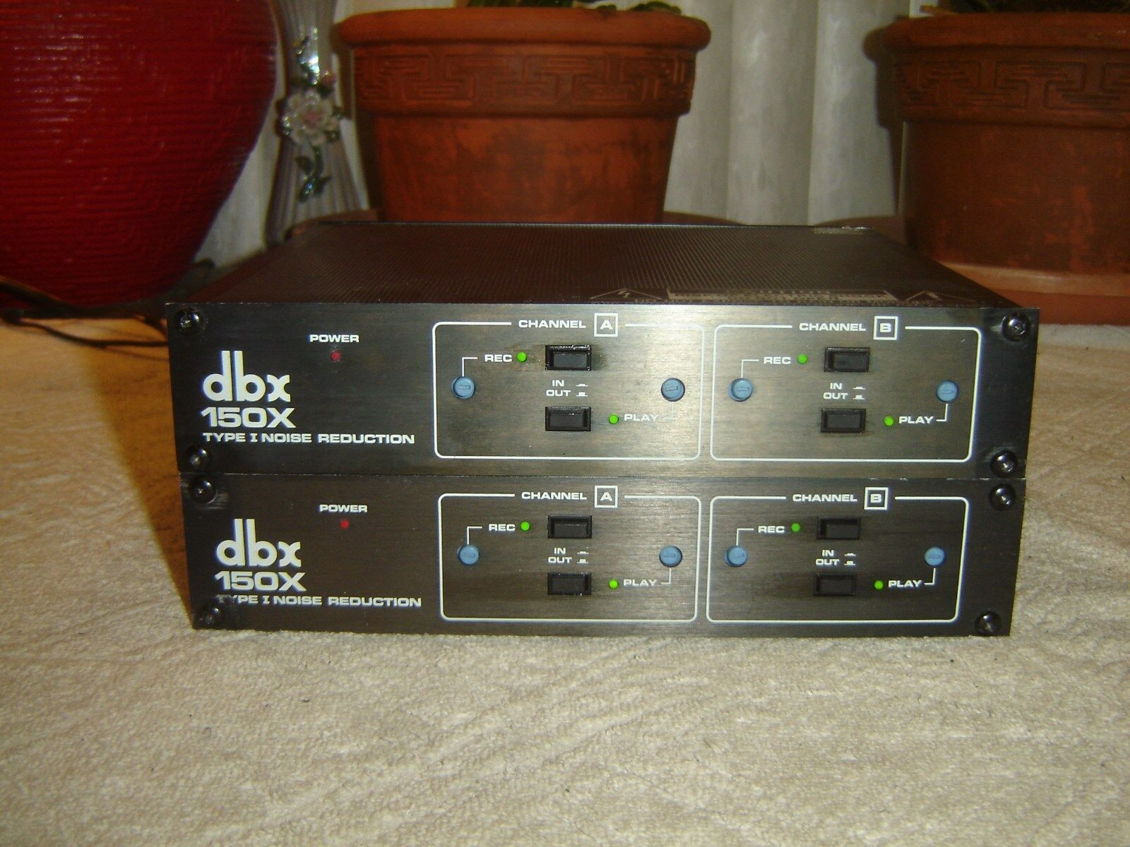 DBX 150X Pair, Type I Noise rotuction, Vintage Units