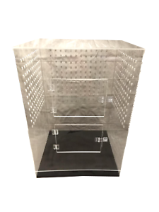 Details about Large Acrylic Bird Cage NestCages Amazing Strength 23 L x  23 50 W x 32 25 H