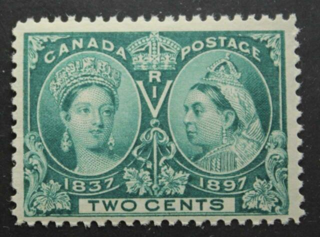 Canada #52, MNH OG, Queen Victoria Jubilee Issue 1897