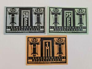 STOCKELSDORF-NOTGELD-50-75-PFENNIG-1-MARK-1921-NOTGELDSCHEINE-12466