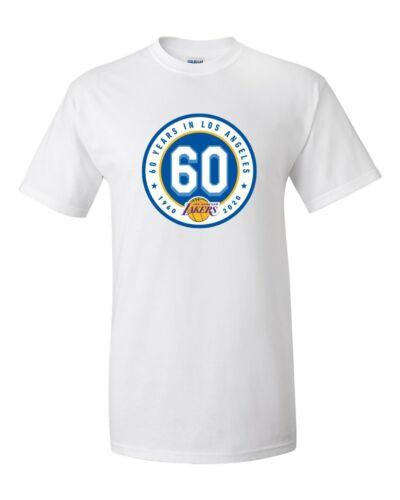 Los Angeles Lakers 60 Anniversary T Shirt