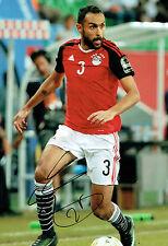 Ahmed ELMOHAMADY Signed Autograph 12x8 Hull City EGYPT Photo B AFTAL COA