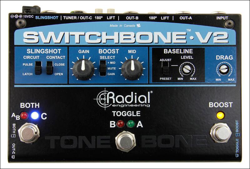 RADIAL TONEBONE Switchbone v2-Professionale Amp-COMMUTATORE
