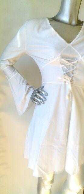 abito in bianco taglia 40