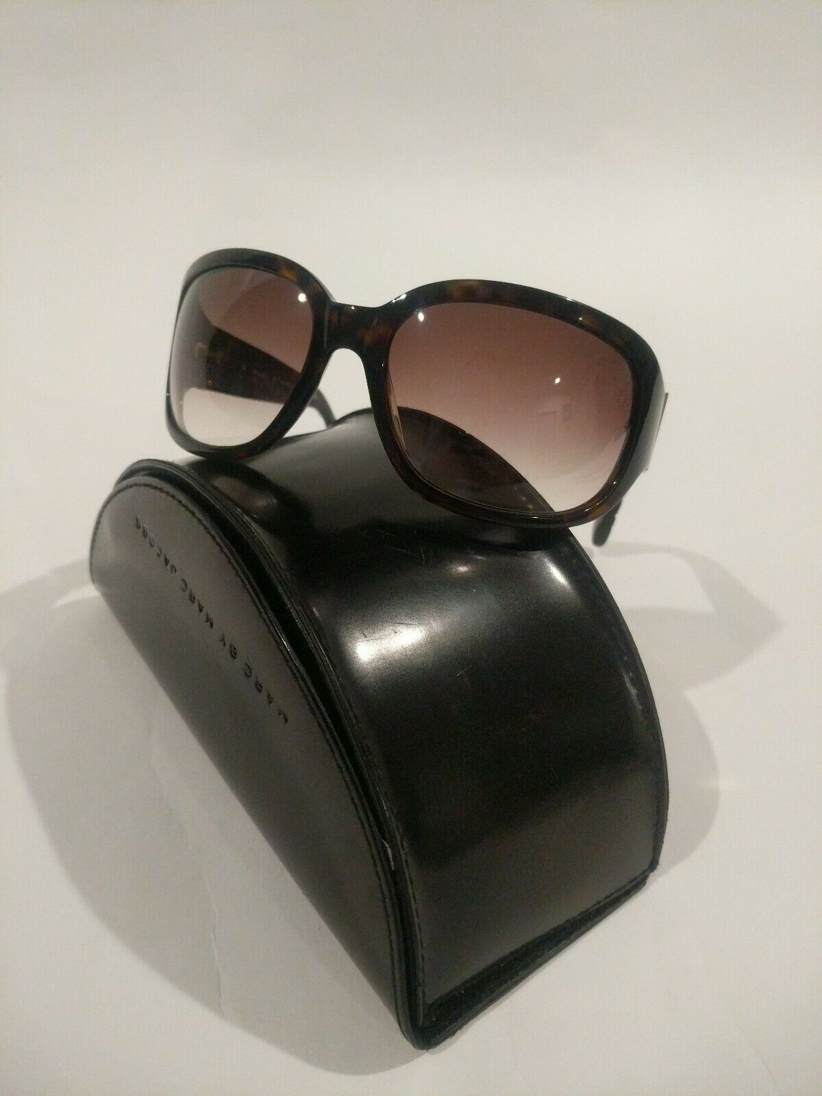 classic shoes wholesale outlet sale Marc by Marc Jacobs MMJ 009/s Uy9 Dark Brown DESIGNER Sunglasses ...