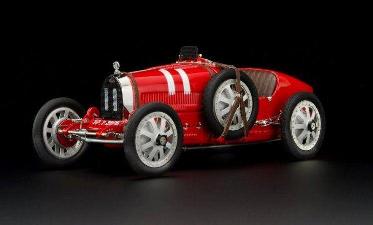 1924 Bugatti T35 Italy Diecast by CMC in 1:18 Scale Diecast Model