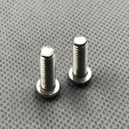 SN-A 2Pcs Cross head Screws Bolt M5 x 16mm Left Hand Thread
