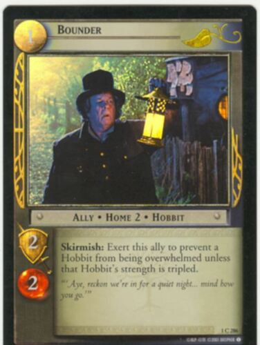Lord Of The Rings CCG FotR Foil Card 1.C286 Bounder