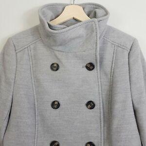 H-amp-M-Womens-Grey-Coat-Jacket-Size-AU-16-or-US-14