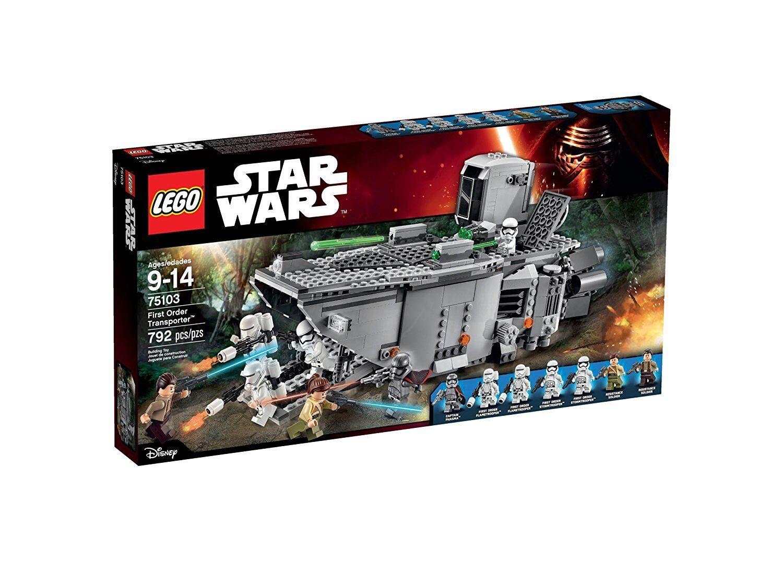NEW LEGO Star Wars First Order Transporter 75103 Building Kit 2 DAY GET