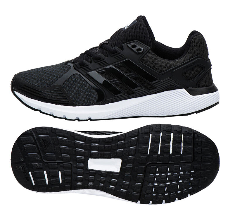 Zapatillas de deporte Adidas Duramo 8 para mujer BB4666 Marathon Training Black Trainers