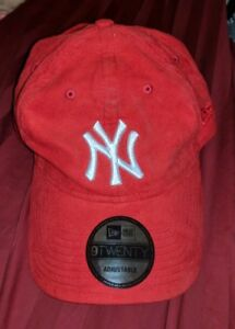 New York NY Yankees Hat New Era 9TWENTY Baseball Cap STRAPBACK HTF ... e11304d36fd