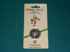 MEDAGLIA UFFICIALE ITALIA '90 mascotte coniazione PROOF Coppa del Mondo FIFA