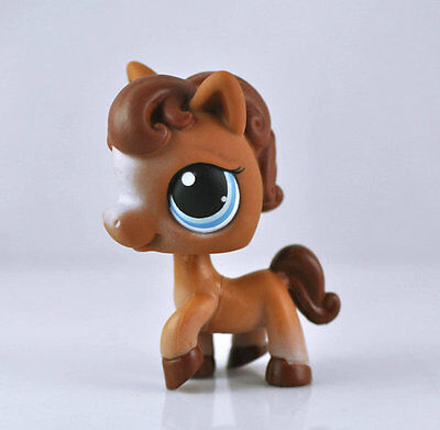 Littlest Pet Shop Horse Child Girl Figure Toy Loose LPS878
