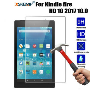 Tablet-Tempered-Glass-Screen-Protector-For-Amazon-Kindle-fire-7-034-HD-8-034-HD-10-034