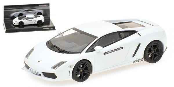 Lamborghini Gallardo LP560-4 bianca Lamborghini Academy 1:43 Model MINICHAMPS