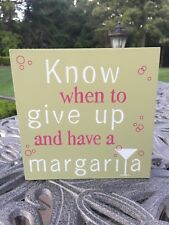 East Urban Home Gerber Know When To Give Up And Have A Margarita Hand Towel For Sale Online Ebay