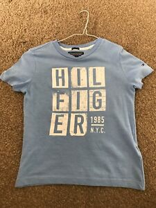 454f7815 Image is loading boys-tommy-hilfiger-T-Shirt-Age-5-Years