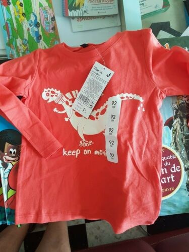 Lot revendeur déstockage de 40 T-shirts bébé In Extenso 24 mois