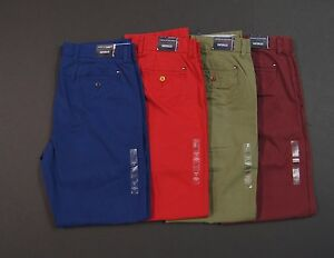 TOMMY-HILFIGER-Men-Custom-Fit-Colored-Cotton-Chino-Pants-NEW-NWT