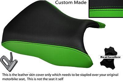 BLACK /& GREEN CUSTOM FITS KAWASAKI ER6F ER6N 650 12-14 FRONT SEAT COVER