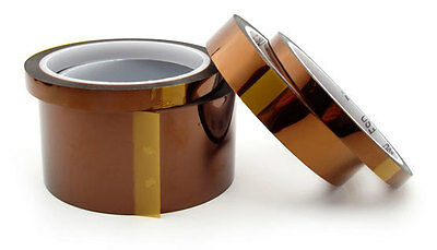 """27mm x 100ft Kapton Tape High Temperature For BGA Polyimide film 1.062/"""" x 33M"""