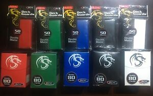Storage Box Magic The Gathering 5 House Colors 80 ct Boxes with BCW 800ct