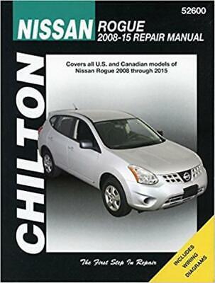 [ZTBE_9966]  Chilton Workshop Manual Nissan Rogue 2008-2015 Service & Repair | eBay | 2015 Nissan Rogue Wiring Diagrams |  | eBay